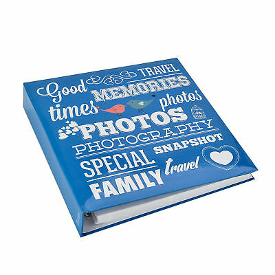 Family Photo Album With Case 3-Ring Binder Holds 500-6x4'' Photos Fast Delivery