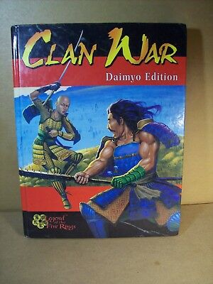 AEG - Clan War - Daimyo Edition - Legend of the Five Rings - Hardcover Book