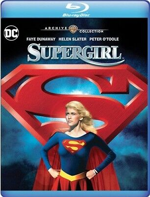 SUPERGIRL New Blu-ray MOD 1984 Film Helen Slater Warner Archive Collection