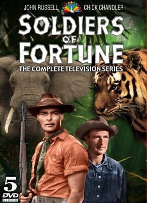 SOLDIERS OF FORTUNE COMPLETE TV SERIES New Sealed 5 DVD Set 52 Episodes