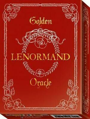 NEW Golden Lenormand Oracle By Lunaea Weatherstone Card or Card Deck