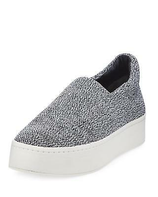 ab5351688625  250 size 10 Vince Walsh Gray Platform Sneakers Slip On Womens Shoes
