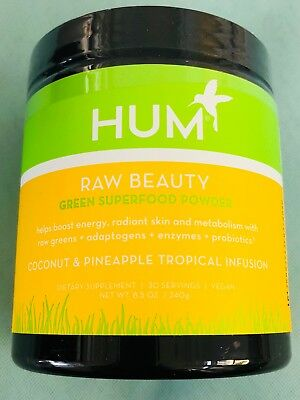 HUM Nutrition - Raw Beauty Greens Superfood - Coconut & Pineapple Tropical
