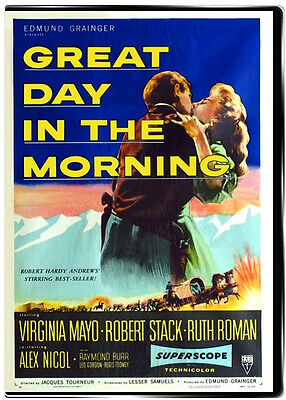 Great Day in the Morning 1956 DVD Robert Stack, Virginia Mayo, Ruth Roman