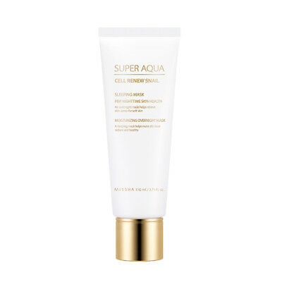 MISSHA Super Aqua Cell Renew Snail Sleeping Mask 110ml