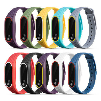 Replacement Silikon Watch Bracelet Armband Wrist Strap For Xiaomi Mi Band 2 Hot