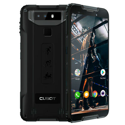 CUBOT Quest 4G Smartphone Libre Android 9.0 Octa Core 64GB 4GB Impermeable 2SIM