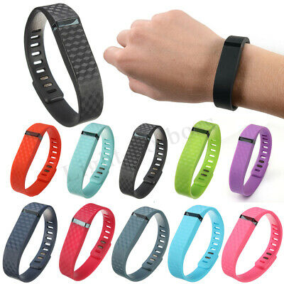 Replacement Wireless Bracelet Band Wristband Large Small + Clasp For Fitbit Flex
