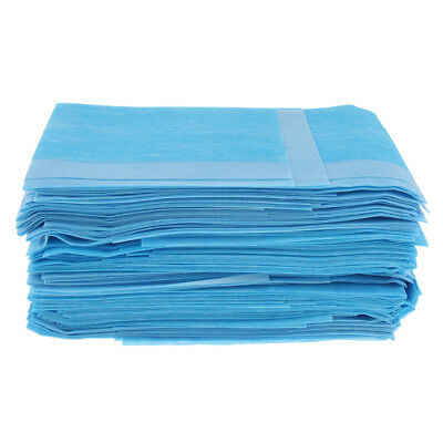 60 Slip-Resistant Disposable Mattress Protector Waterproof Incontinence Pads