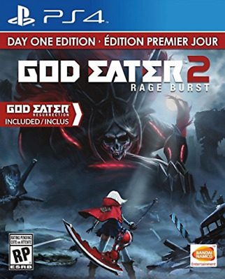 PS4-God Eater 2: Rage Burst /PS4 GAME NEW