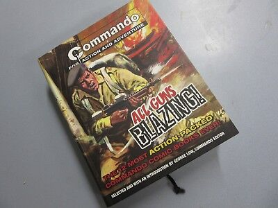 All Guns Blazing -  Commando Comic compilation book