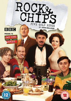 Rock and Chips: Five Gold Rings DVD (2011) Nicholas Lyndhurst ***NEW***