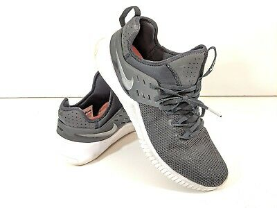 95af85be35370 Men s Nike Free x Metcon Gym Cross Training Shoes AH8141-001 Black White  Size