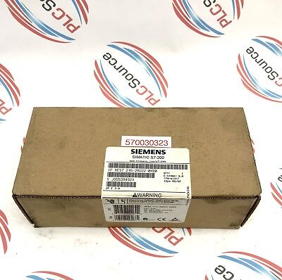 Siemens  Simatic S7-200  6Es7 216-2Bd22-0Xb0 Compact Cpu   Factory Sealed