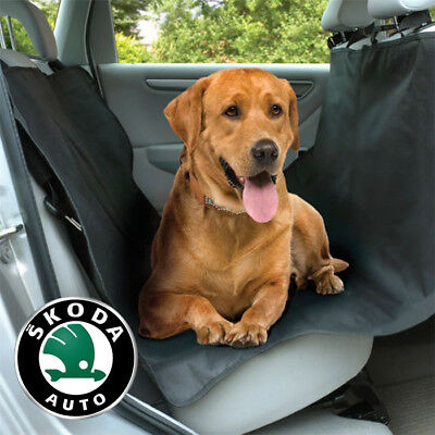 Skoda Rear Seat Cover Waterproof Dog Pet Care ALL Models 144 x 144cm Non-Tear