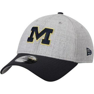 premium selection 3658f 00bf6 Michigan Wolverines New Era Change Up Redux 39THIRTY Flex Hat - Gray Navy
