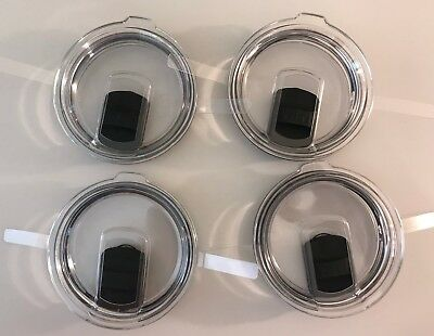 4 pack YETI Rambler Tumbler MagSlider Replacement Lids for 14 oz and 30 oz
