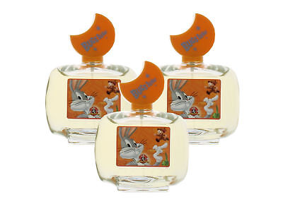Bugs Bunny by Looney Tunes for Boys Combo:EDT Spray 10.2oz (3x 3.4oz) Tester