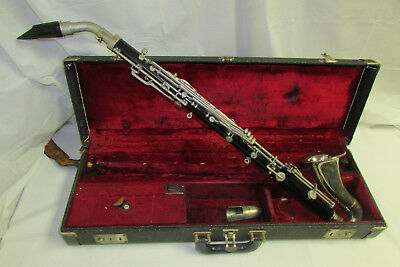 Vintage Selmer Bundy Resonite Eb Alto Clarinet w/ Geo 3 Mouth Piece and Case