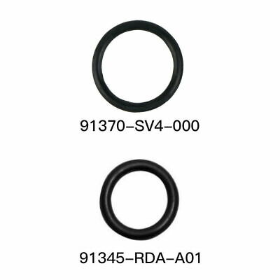 2 piece Kit New OEM Honda Acura Power Steering Hose Inlet & Outlet O-ring Seals