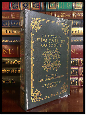 The Fall Of Gondolin by J.R.R. Tolkien Sealed Easton Press Leather Lord Rings