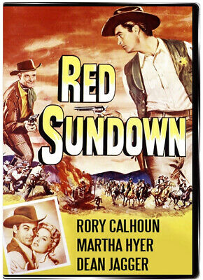 Red Sundown 1956 DVD - Rory Calhoun, Martha Hyer, Dean Jagger