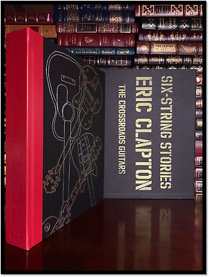 Six String Stories ✎SIGNED✎ by ERIC CLAPTON New Genesis Publications Lmt. 1/2000