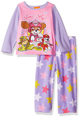 NEW Toddler PAW Patrol Girls 2 pc Pajamas Set shirt Pants PJs 18 Months SKYE