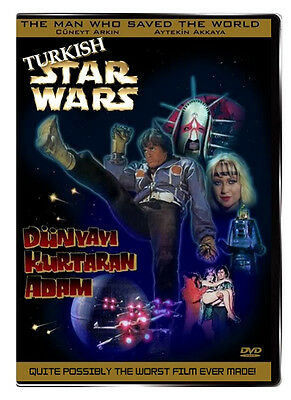 Turkish Star Wars AKA The Man Who Saved the World 1982 CLASSIC CULT SCIFI FILM