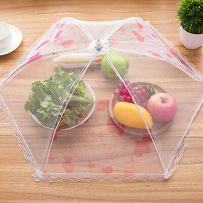 Food Mesh Cover Mosquito Picnic Tent Barbecue Bugs Anti Fly Pop-Up Collapsible