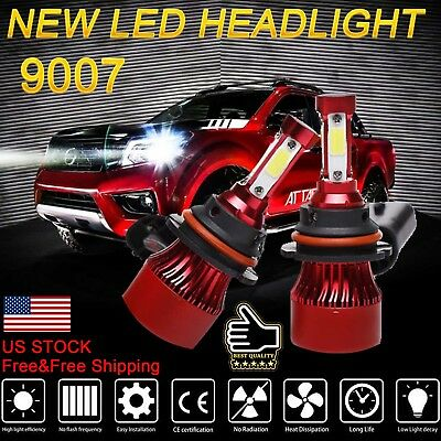 CREE 9007 HB5 LED Headlight Bulb Kit for Dodge Caravan 1996-2007 High Low Beam