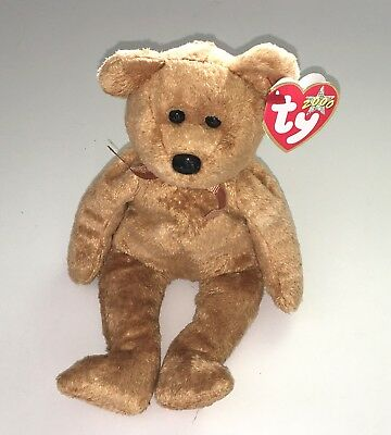 0c7d78d16df Ty Beanie Babies 2000 Cashew Bear New Plush Stuffed Baby Toy Retired NWT
