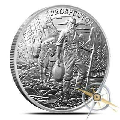 5 - 1 oz .999 Silver Rounds - Provident Prospector - Uncirculated - New