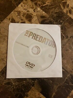 The Predator (2018, DVD ONLY) (no Blu Ray, case or digital code)