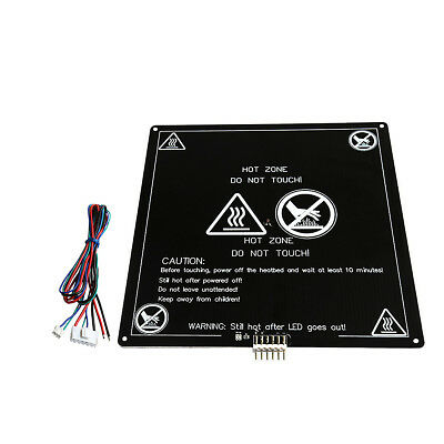 120W 12V MK3 Upgraded Aluminum Board PCB Heating Bed With Wire For 3D Printer