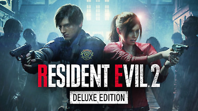 RESIDENT EVIL2 BIOHAZARD RE2 Deluxe🔐STEAM OFFICIA KEY🔐Instant Delivery(30s)📥