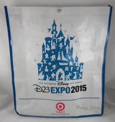 Nuevo D23 Expo Exclusivo Grande Shopper Tote Mochila Reutilizable Bolsa Regalo