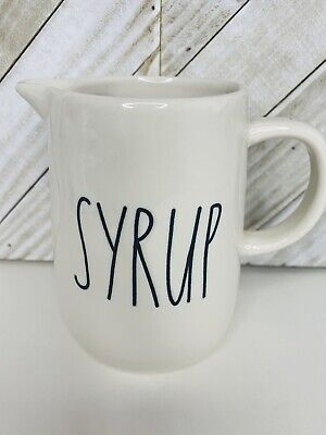 Rae Dunn SYRUP Pitcher New By Magenta