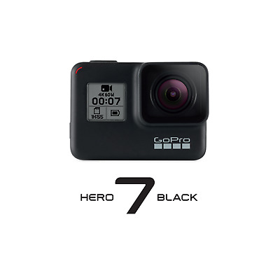 GoPro Hero 7 Black 4K60-Action Cam wasserdicht Spachsteuerung Touchscreen