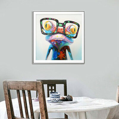 Hand Painted Animal Oil Painting Canvas Frameless Art Wall Painting Home Adron