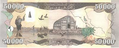 Mint Iraq 50000(Fifty Thousand) New Dinar Banknote Iraqi Iqd-Certified!