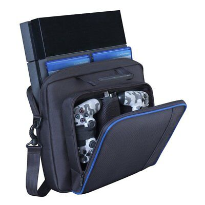 Travel Protective Padded Carry Bag Shoulder Strap For PlayStation 4 PS4-Console