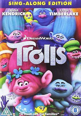 Trolls [DVD] - Sealed and New. Free Postage