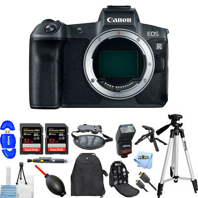 Canon EOS R Mirrorless 30.3MP UHD 4K Digital Camera (Body Only) MEGA BUNDLE