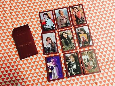 Twice The Year or Yes 3rd special album pre order benefit photocard A ver.