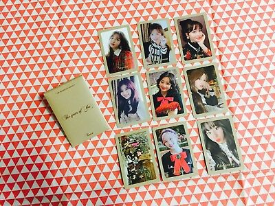 Twice The Year or Yes 3rd special album pre order benefit photocard B ver.