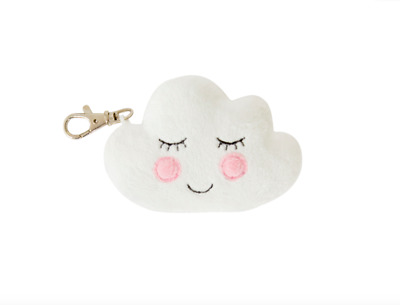 Sass & Belle Sweet Dreams Happy Cloud Plush Bag Charm Cute Keyring Gift