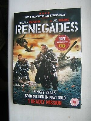 Renegades [DVD]; New and Sealed - FREEPOST {Rare DVD}