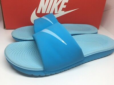 f38be15c247c8 NIKE KAWA SLIDE 5Y (GS PS) 819353 401 BLUE GRADE SCHOOL SIZE 5