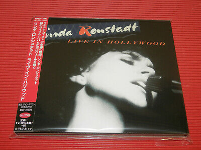 Linda Ronstadt Live In Hollywood  Japan Digipak Cd